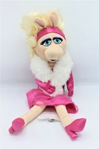 """Disney Store Miss Piggy The Muppets Pink Dress Plush Toy 19"""" Authentic New - $39.99"""