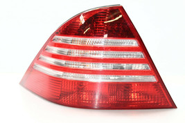 2003-06 Mercedes W220 S430 S500 S55 Rear Left Driver Tail Light Lamp Lens P4930 - $146.99