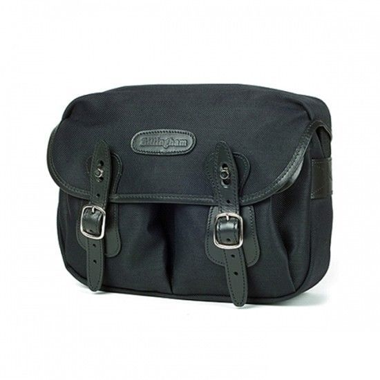Billingham Hadley Small BLACK Fibrenyte/ BLACK DSLR SLR Camera Shoulder Bag NEW