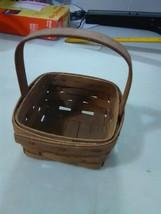 Longaberger Small Berry Basket - fixed Handle - 1985 - $7.31