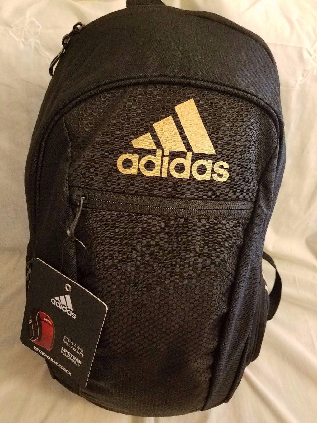 34c0e81ac6 Adidas Estadio Iv Team Backpack Ball Carrier And 15 Similar Items. Adidas  Stadium Team Backpack Black ...