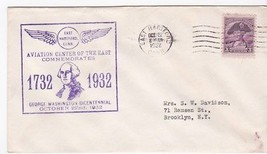 Aviation Center Of The East Commemorate George Washington Bicentennial 1932 - $12.18