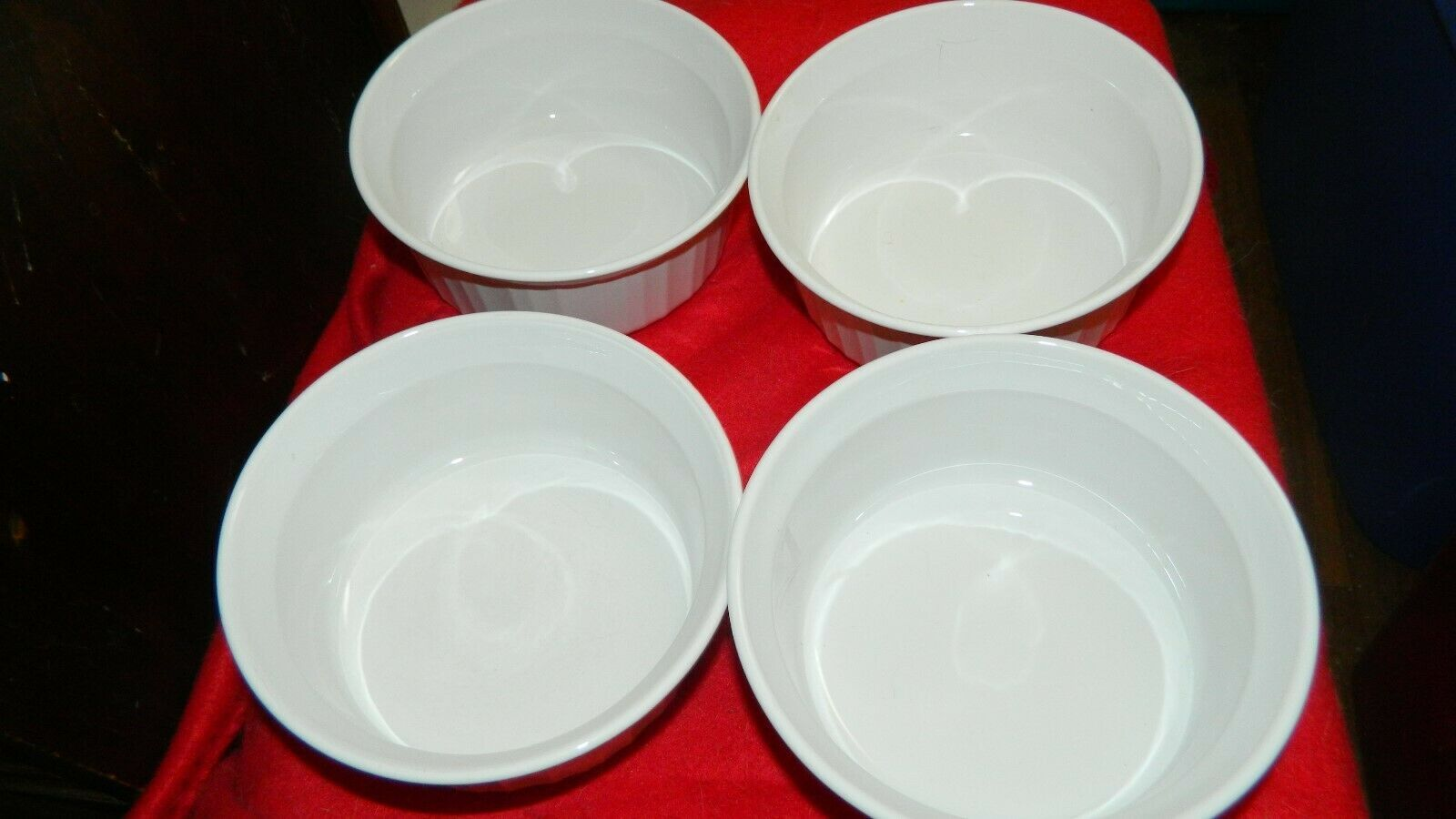 Primary image for CORNING WARE F-16-B ROUND 16 OUNCE CASSEROLE DISH LOT OF 2  FREE USA SHIPPING