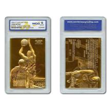 1996-97 Kobe Bryant Fleer 23K Gold Rookie Card Signature Series - Gem Mint 10 - $150.00