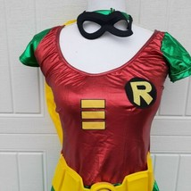 Robin Teen Titans Adult Womens Halloween Costume Cosplay X Small Secret Wishes - $18.48