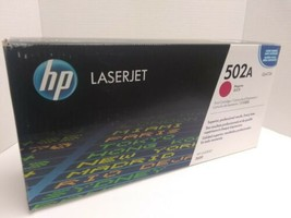 HP 502A Magenta Toner Cartridge Q6473A LaserJet 3600 Genuine Sealed NIB  - $14.80