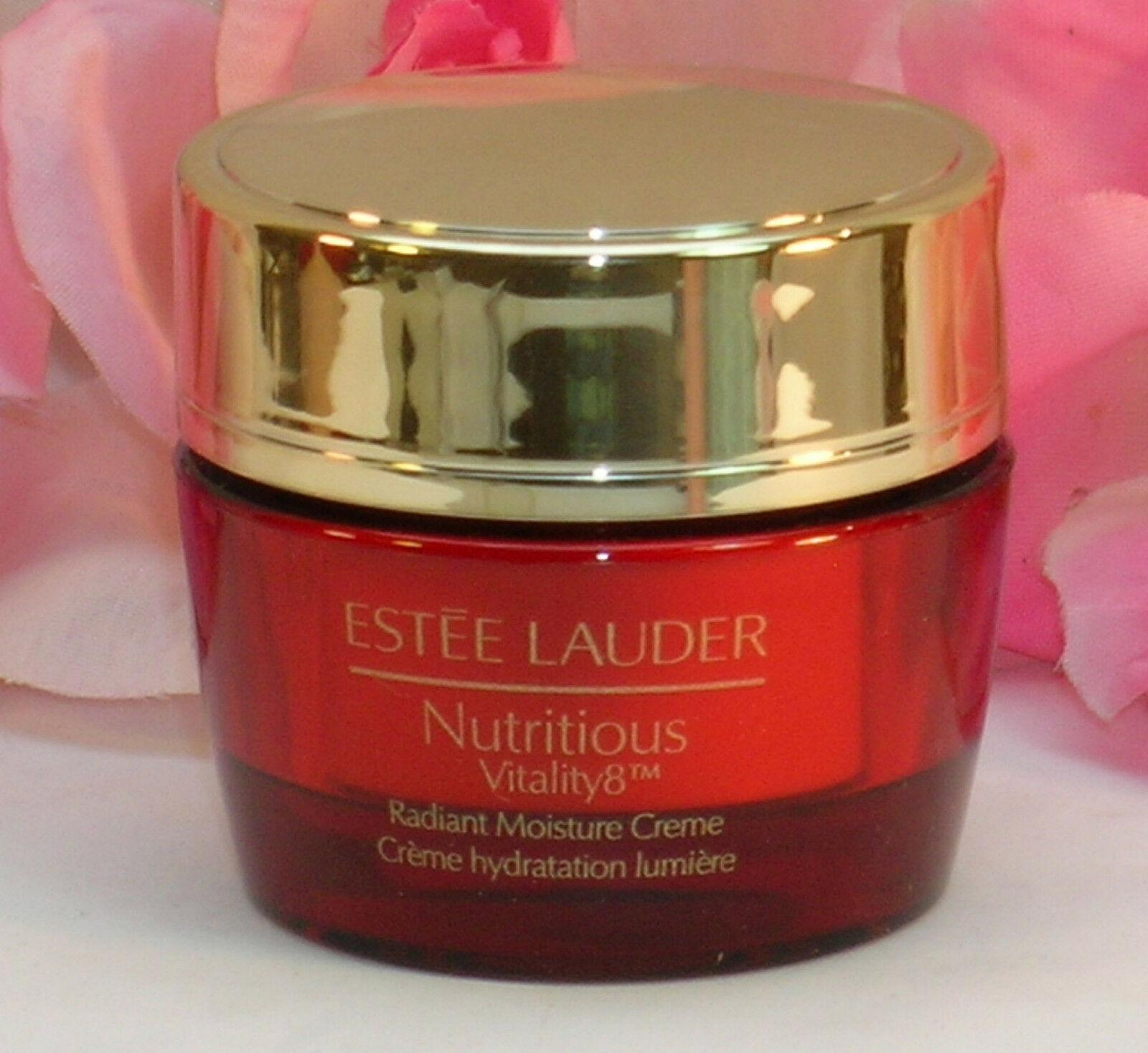 New Estee Lauder Nutritious Vitality8 Night Radiant Overnight Cream .5 oz /15 ml - $46.99