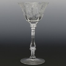 Cambridge Crystal Rose Point Goblet 3121 4 OZ Tall Footed Cocktail
