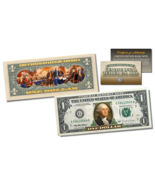 Declaration of Independence Official Legal Tender U.S. $1 Bill w/COA * 2... - $224,45 MXN