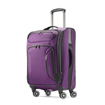 """American Tourister Zoom 21"""" Carry On Spinner Purple 92406-1717 - $99.99"""