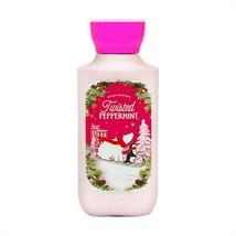 Twisted Peppermint Lotion Shea + Vitamin E Bath Body Works 8 oz - Orig F... - $21.77