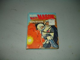 Major Matt Mason: Moon Mission Whitman Big Little Book #2022 1968 Mattel... - $22.76