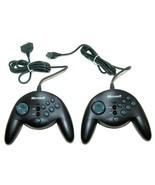 (2) Microsoft SideWinder Gamepads 90873 15-pin Serial Game Port Gameport... - $19.30