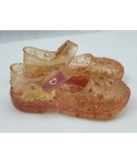 Cali girl size 3 Girls pink Sandals Jellies Shoes Toddler (be) - $6.93