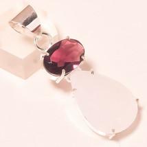 "Milky Opal, Amethyst Handmade Fashion Ethnic Jewelry Pendant S-2"" AU-71 - $5.77"