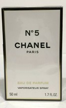 CHANEL No 5 PERFUME FOR WOMEN EDT SPRAY 1.7 OZ 50 ML NEW IN SEALED BOX - $116.99
