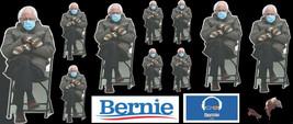 13 Bernie Sanders Mittens Meme / Stickers / Vinyl Decal Bernie Visits Himself - $4.95