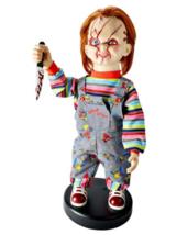 Bump N Go Chucky Doll Animatronics Moves and Talks New 2' Tall - $158.39