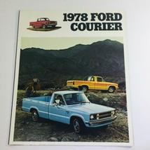 Vintage 1978 Ford Courier 2-Door Pick-Up 1.8L 4-Cylinder 35-Amp Car Brochure - $6.37