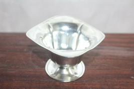 vintage mid century modern  Sterling Silver SSMC two handled footed bowl.925 - $63.45