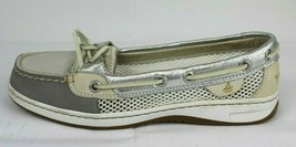 Sperry top-sider womens Sperry top sider boat shoes metallic size 6M - $21.78