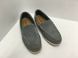 GH Bass & Co. Men's Suede Loafers Sz 13 M Slip On Casual Moc Toe Shoes G... - $42.49