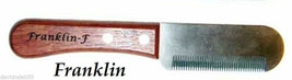 FRANKLIN Classic FINE DOG Hair Coat Hand Stripper Carding STRIPPING KNIF... - $21.99