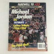 Gold Basketball Magazine 1998 Michael Jordan #23, Includes Poster No Lab... - $14.20