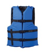 Onyx Nylon General Purpose Life Jacket - Adult Universal - Blue - $30.59