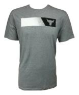 Under Armour Mens UA Project Rock Brahma Bull T-Shirt 1347699-035 Gray S... - $24.98
