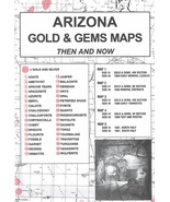 Arizona Gold & Gem Maps - Then and now - $15.95