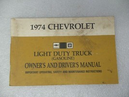 Chevy Pickup TCHEV20   1974 Owners Manual 17365 - $17.77
