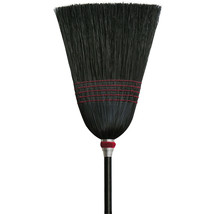 Hamburg Nexstep Parlor 100% Black Corn Broom 12 Inch 072627061023 - $35.13