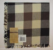 Park B Smith Potpourri Block Black Woodland Fabric Napkins Set of 4 - $9.99