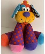 "Lamaze 9"" Puppy Dog Little Triumphs Honker Baby Toddler Toy Plush Purple... - $13.09"