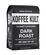 Koffee Kult Dark Roast Coffee Beans - Highest Quality Gourmet - Whole Be... - $34.99