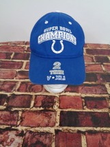 Indianapolis Colts Blue Cap Hat Super Bowl One Size 2 Time NFL - $19.59