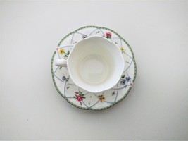 MIKASA SPRING PROSE TEA CUP AND SAUCER *NEW - $22.99