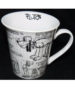 2008 Disney Pluto the Dog Sketch Book Don Towsley Animator Coffee Mug Cu... - $23.79