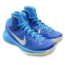 NIKE Hyperdunk 2014 Womens Sz 7.5 Blue High Top Basketball Shoes 653484-404 - $44.54