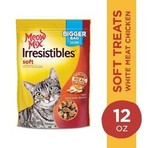 Meow Mix Irresistibles Cat Treats - Soft With White Meat Chicken, 12-Oun... - $22.38+