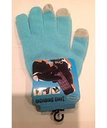 Sky Blue Magic Touch Screen Gloves Smartphone Texting Winter Knit Warm M... - $7.92