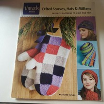 Felted Scarves, Hats, & Mittens Patterns to Knit and Felt Mittens Hats S... - $2.97