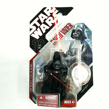 2007 Star Wars 30th Anniversary DARTH VADER Figure #16 A New Hope w/ Coin - $13.84