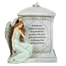 """Roman 48476 8.5"""" Inch Height Memorial Urn Forever with the Angels - $74.29"""