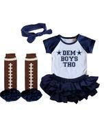 Dallas  Cowboys Girls Onesie Uniform Jersey Dem Boys Tho - $21.95+