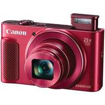 Canon 20.2-Megapixel Powershot Sx620 Hs Digital Camera (Red) - $299.79