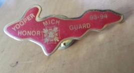 """Yooper Michigan Honor Guard 93-94 Upper Peninsula Lapel Pin 1 1/2""""  x 3/4"""" - $12.86"""