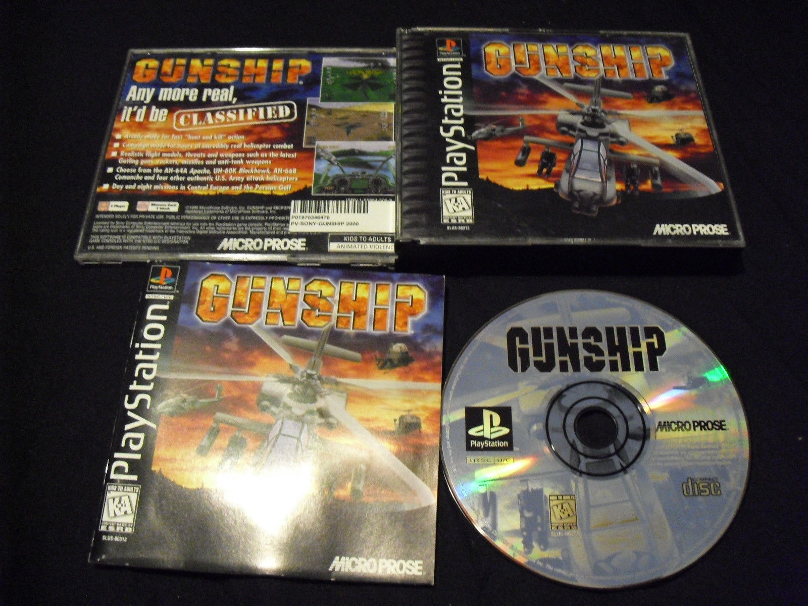 Primary image for Gunship  (PlayStation, 1996)