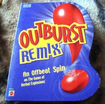 Outburst Remix Game by Mattel 2004 Edition - $18.50